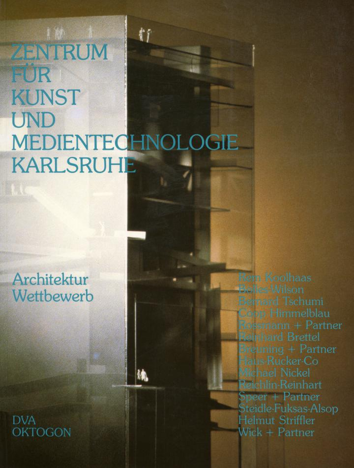 Cover of the publication »Das Zentrum für Kunst und Medientechnologie Karlsruhe. Ein Architektur Wettbewerb«