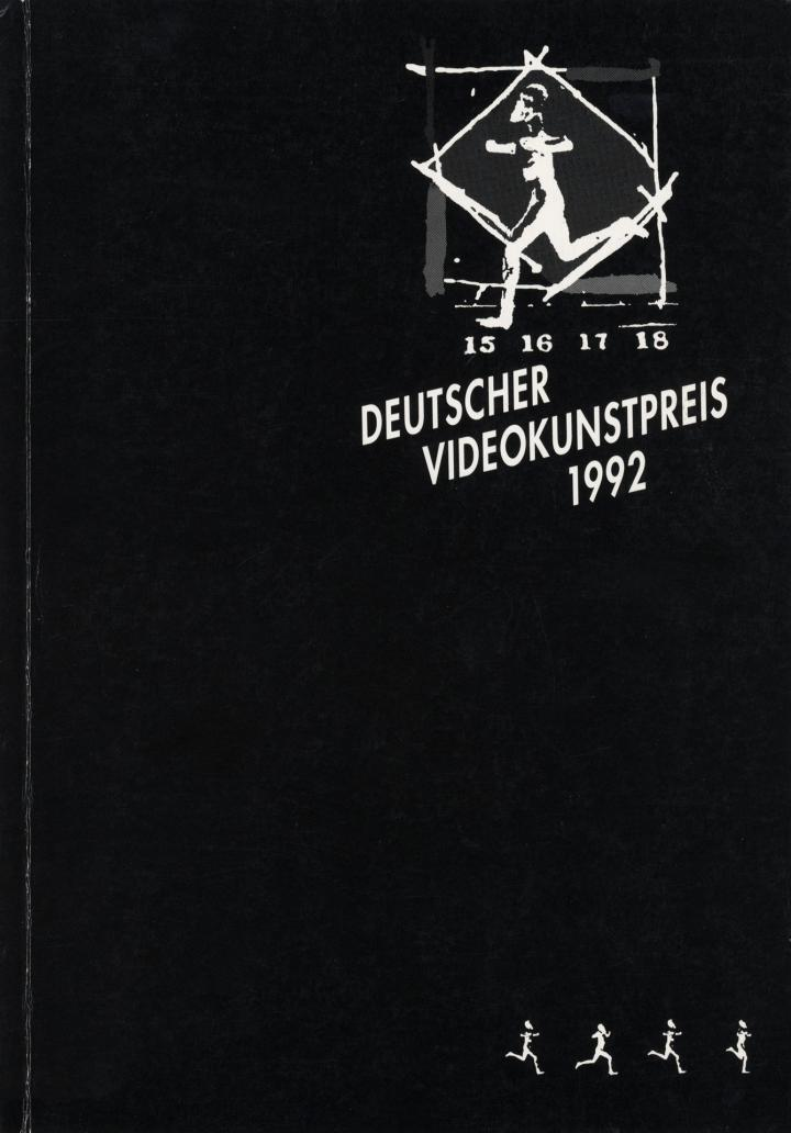 Cover der Publikation »Deutscher Videokunstpreis 1992«