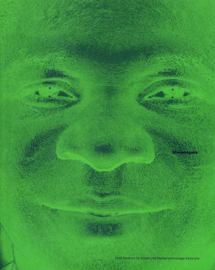 Cover der Publikation »Mienenspiele / About Faces«