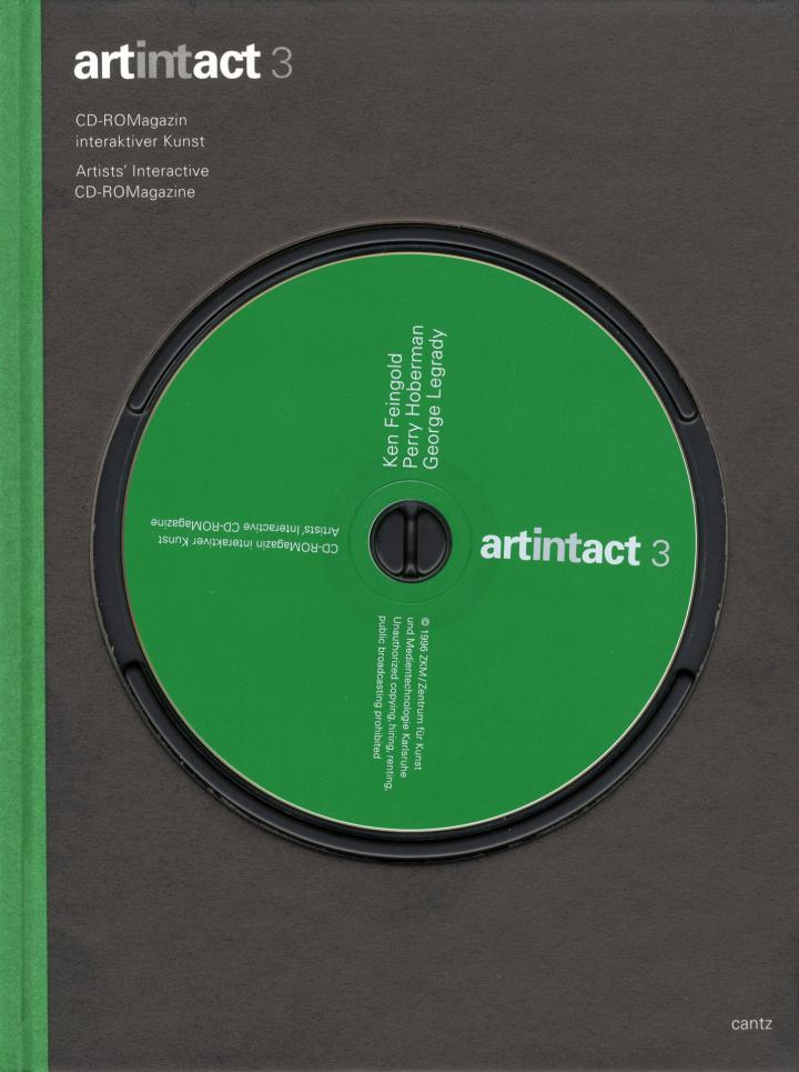 Cover of the publication »Artintact 3«