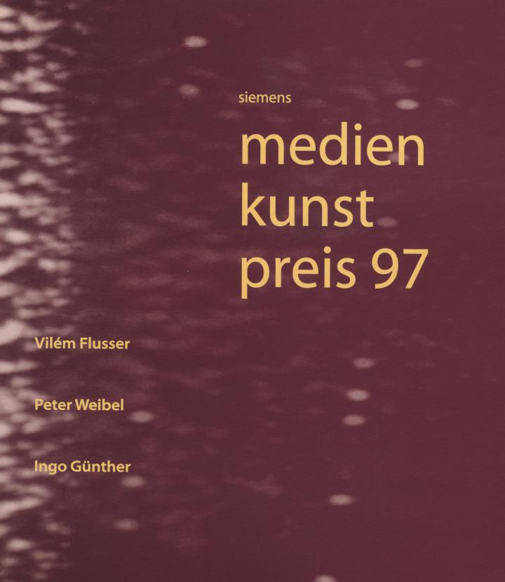Cover of the publication »Siemens Medienkunstpreis 97«
