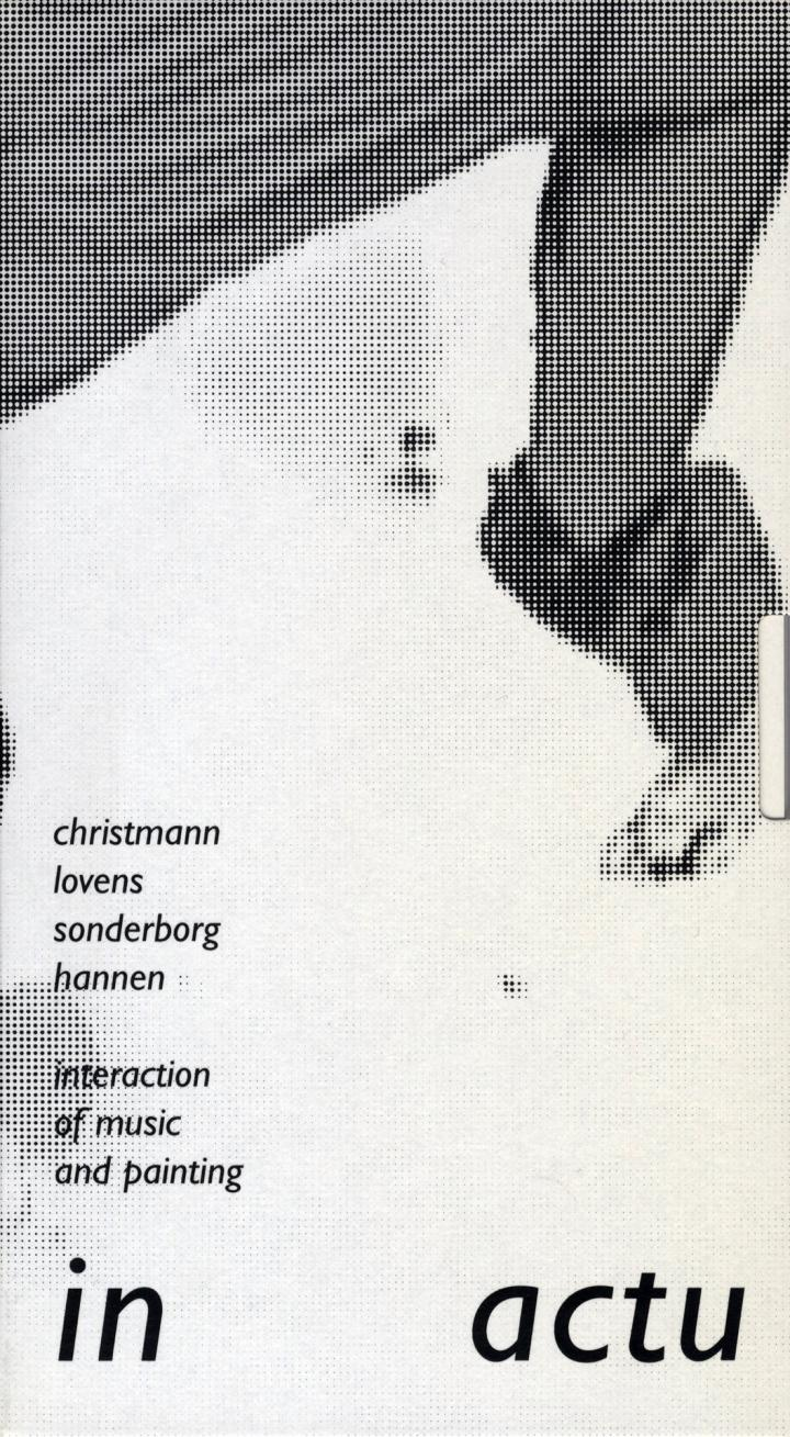 Cover of the publication »In Actu. Interaction of Music and Painting«