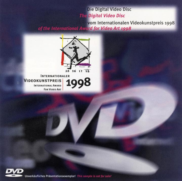 Cover of the publication »Internationaler Videokunstpreis 1998 / International Award for Video Art 1998«