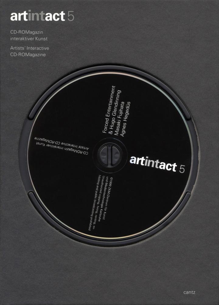 Cover of the publication »Artintact 5«
