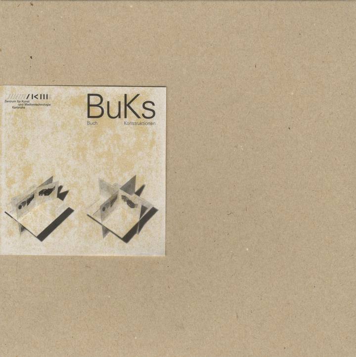 Cover der Publikation »BuKs. Buch Konstruktionen«