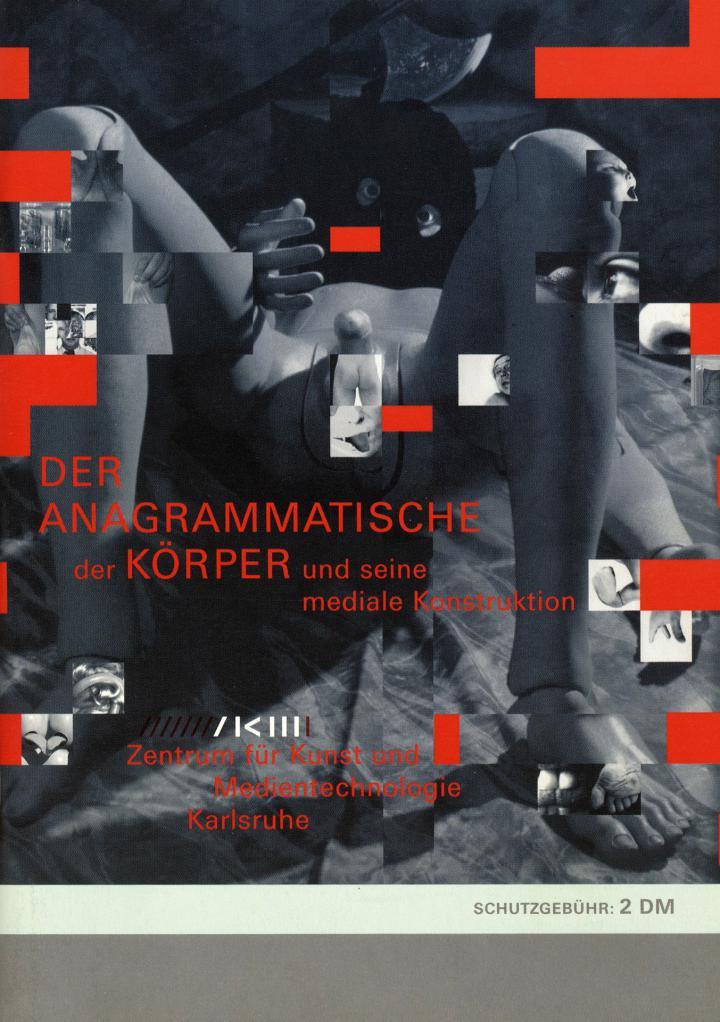 Cover der Publikation »Der anagrammatische Körper«