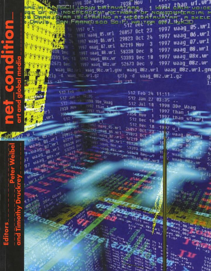 Cover of the publication »Net_Condition«