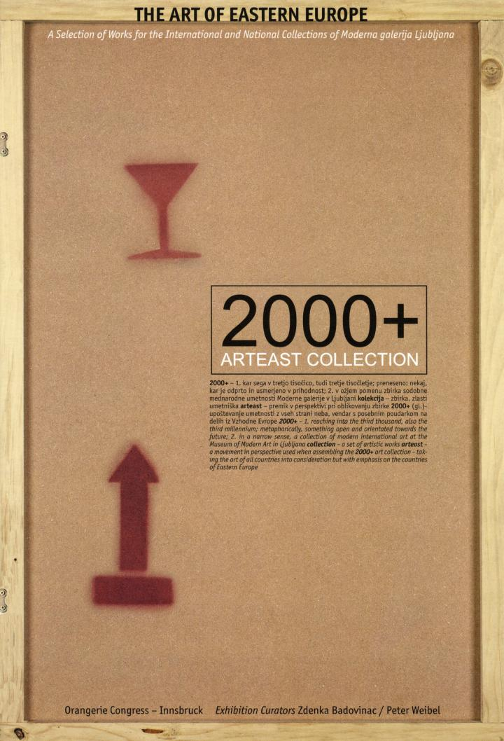 Cover der Publikation »2000+ Arteast Collection«