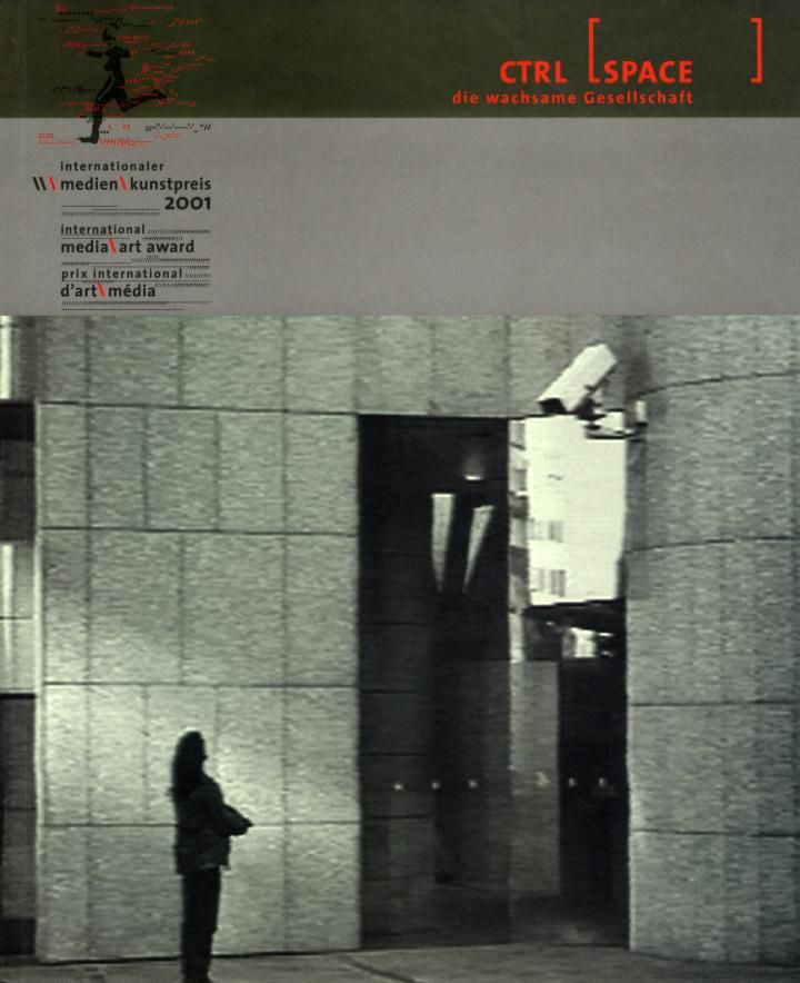 Cover of the publication »CTRL [SPACE]. Die wachsame Gesellschaft«