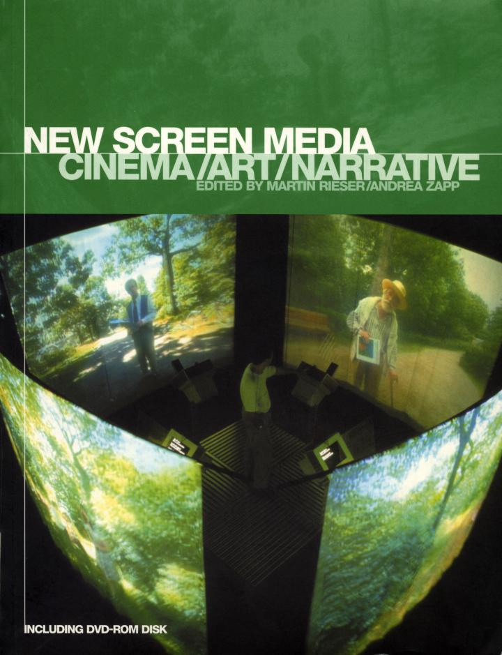 Cover of the publication »New Screen Media«
