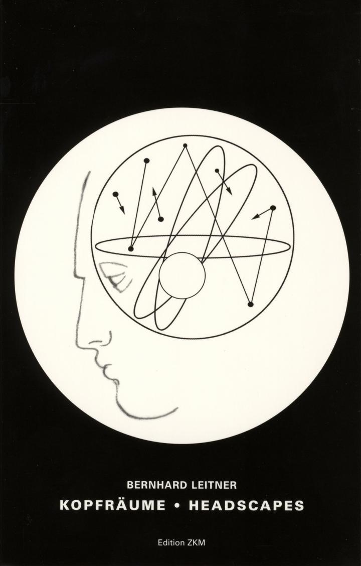 Cover der Publikation »Bernhard Leitner: Kopfräume / Headscapes«