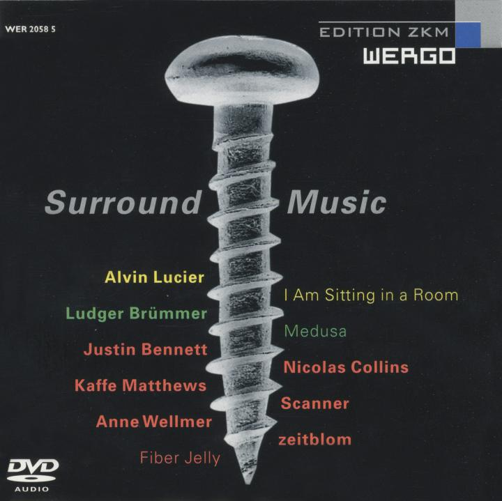 Cover of the publication »Surround Music«