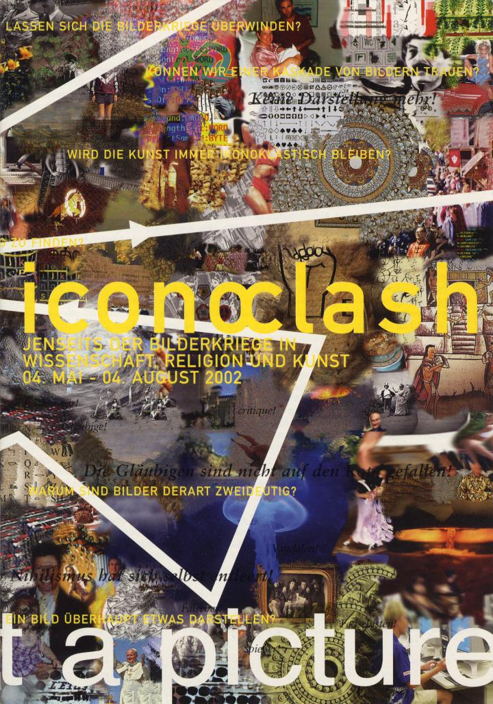 Cover der Publikation »Iconoclash. Jenseits der Bilderkriege in Wissenschaft, Religion und Kunst«