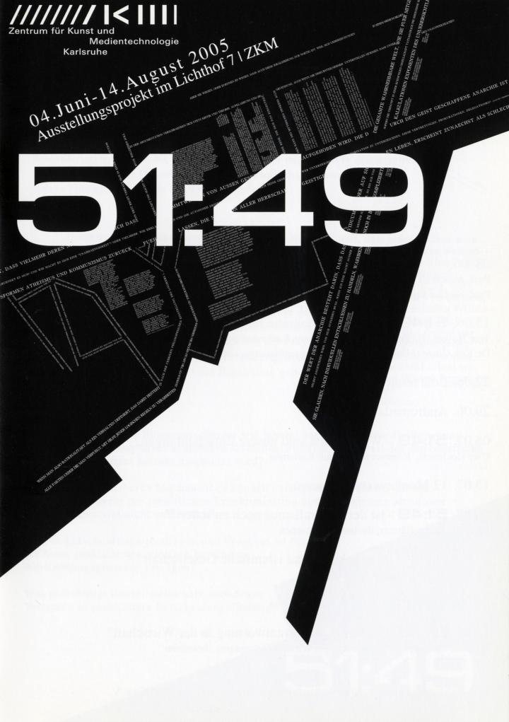 Cover of the publication »51:49 - alle Macht geht vom Volke aus«