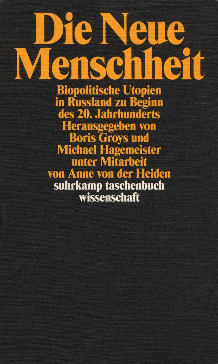 Cover der Publikation »Die neue Menschheit«