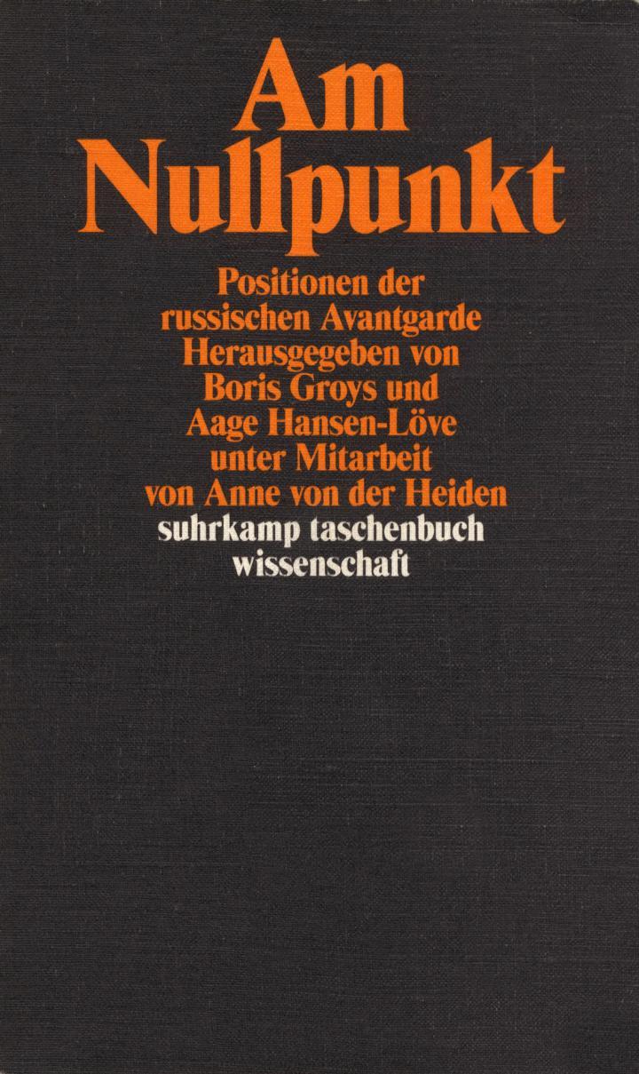 Cover der Publikation »Am Nullpunkt«