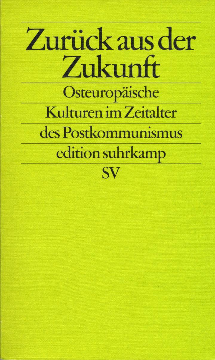 Cover der Publikation »Zurück aus der Zukunft«