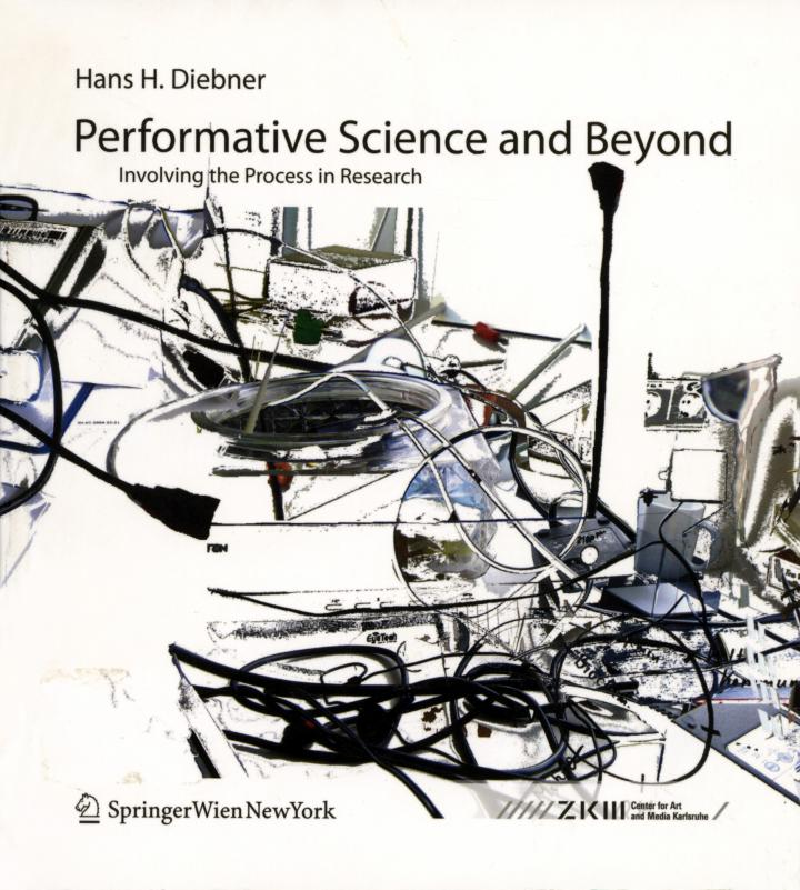 Cover of the publication »Performative Science and Beyond«