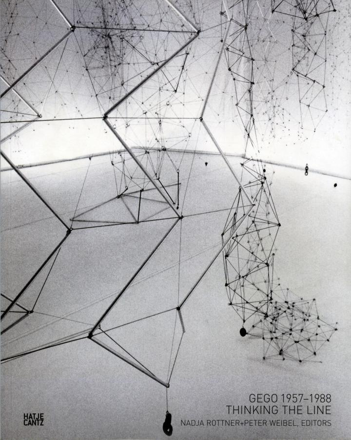 Cover of the publication »Gego, 1957–1988: Thinking the Line«