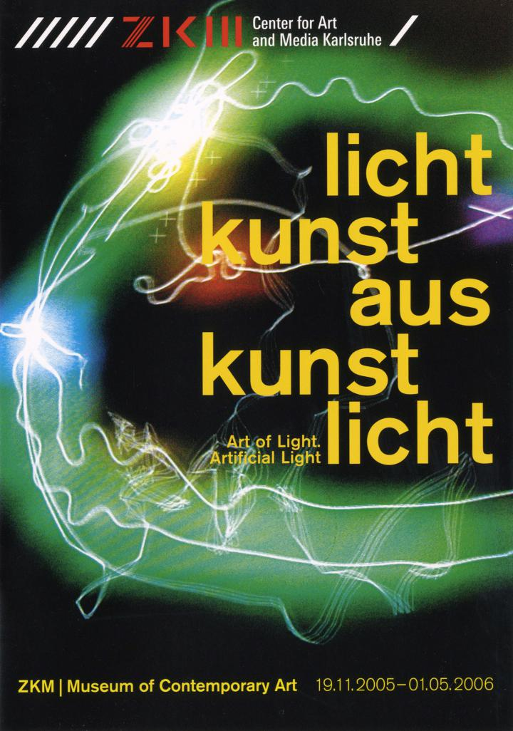 Cover der Publikation »Lichtkunst aus Kunstlicht / Art of Light, Artificial Light«