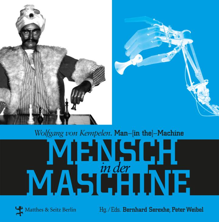 Cover of the publication »Wolfgang von Kempelen. Mensch in der Maschine / Man in the Machine«