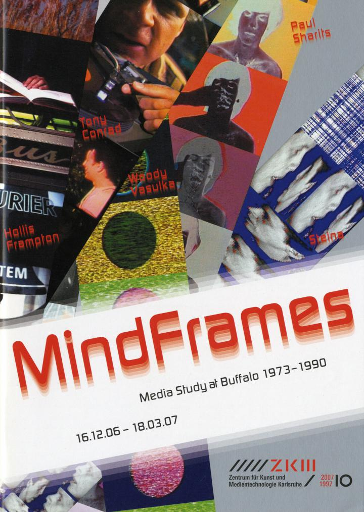 Cover of the publication »Mindframes. Media Study at Buffalo 1973–1990«