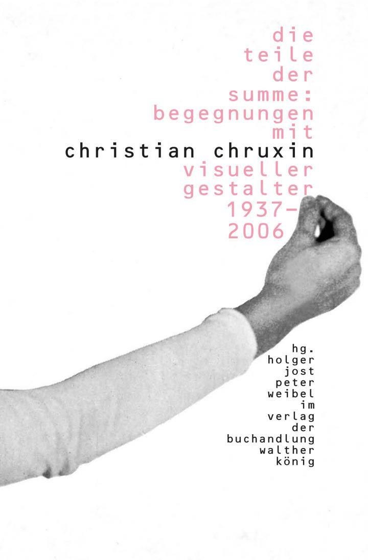 Cover of the publication »Die Teile der Summe. Begegnungen mit Christian Chruxin«