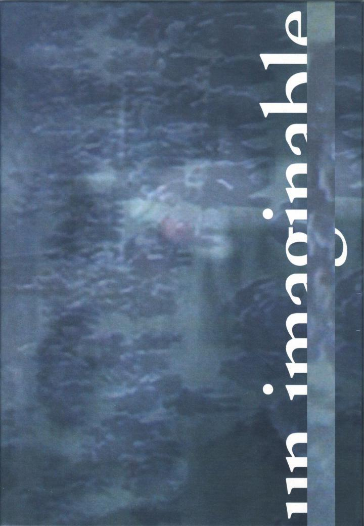 Cover of the publication »Un_imaginable«