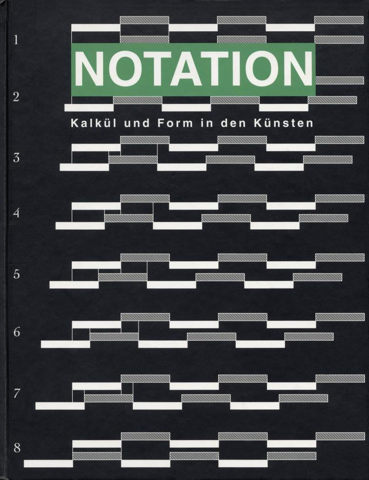 Cover of the publication »Notation«
