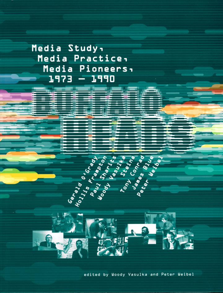 Cover of the publication »Buffalo Heads. Media Study. Media Practice. Media Pioneers.«