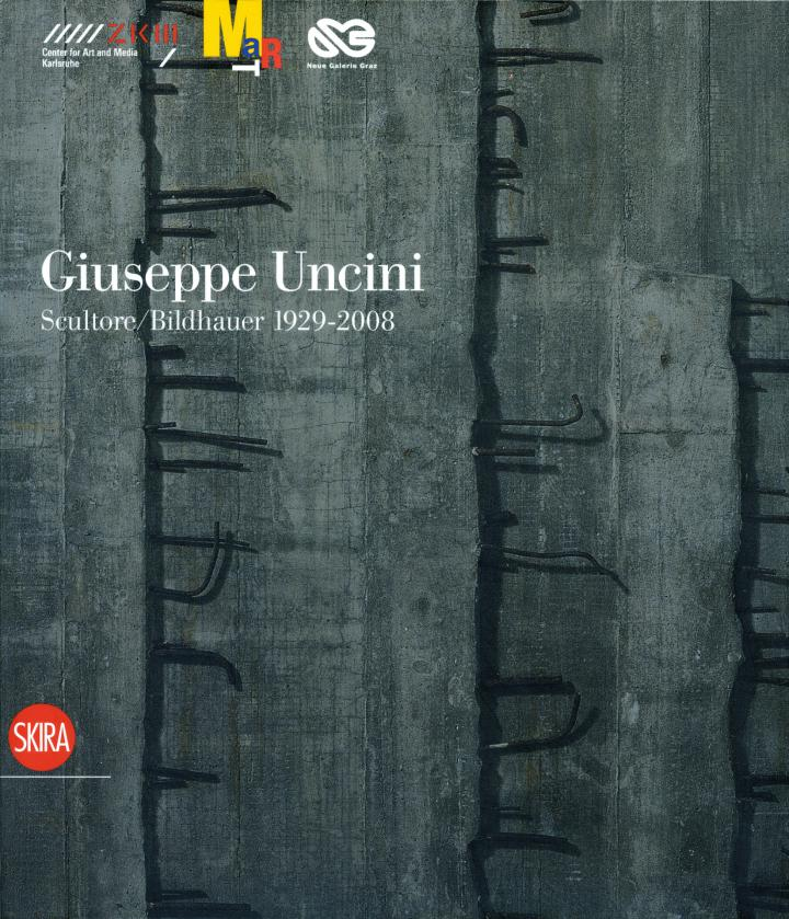 Cover of the publication »Giuseppe Uncini«