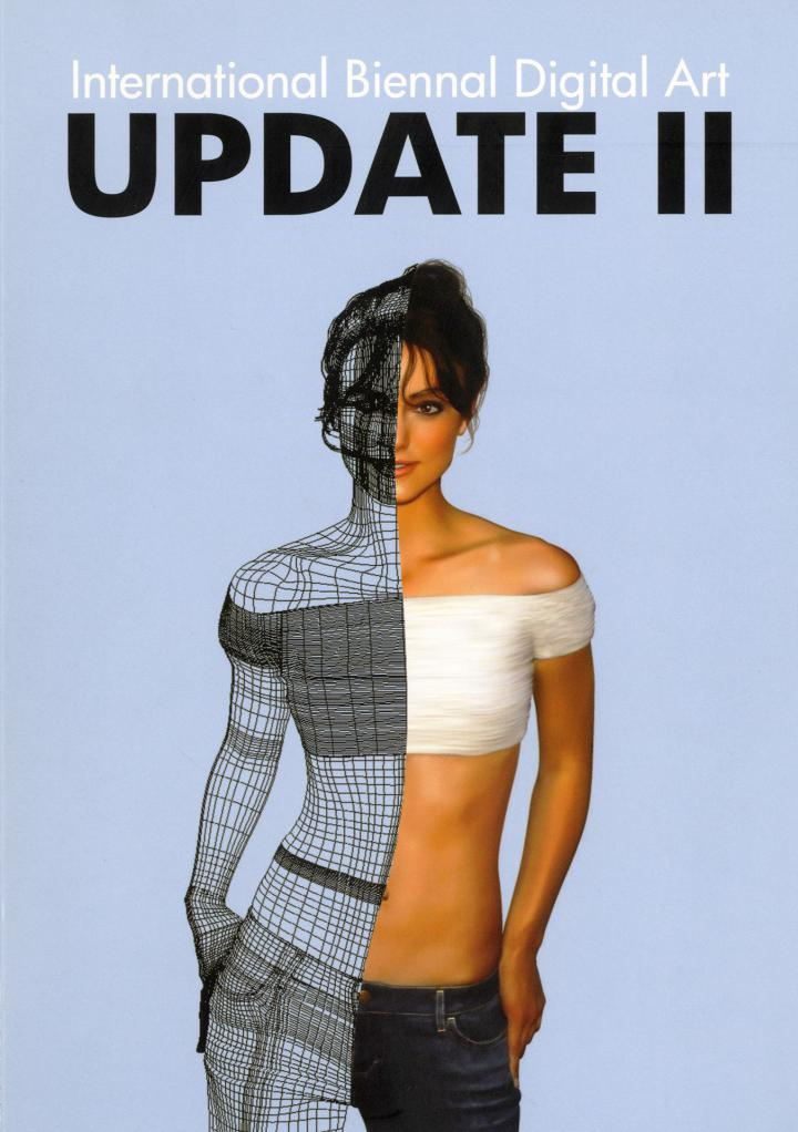 Cover of the publication »Update II. International Biennal Digital Art«