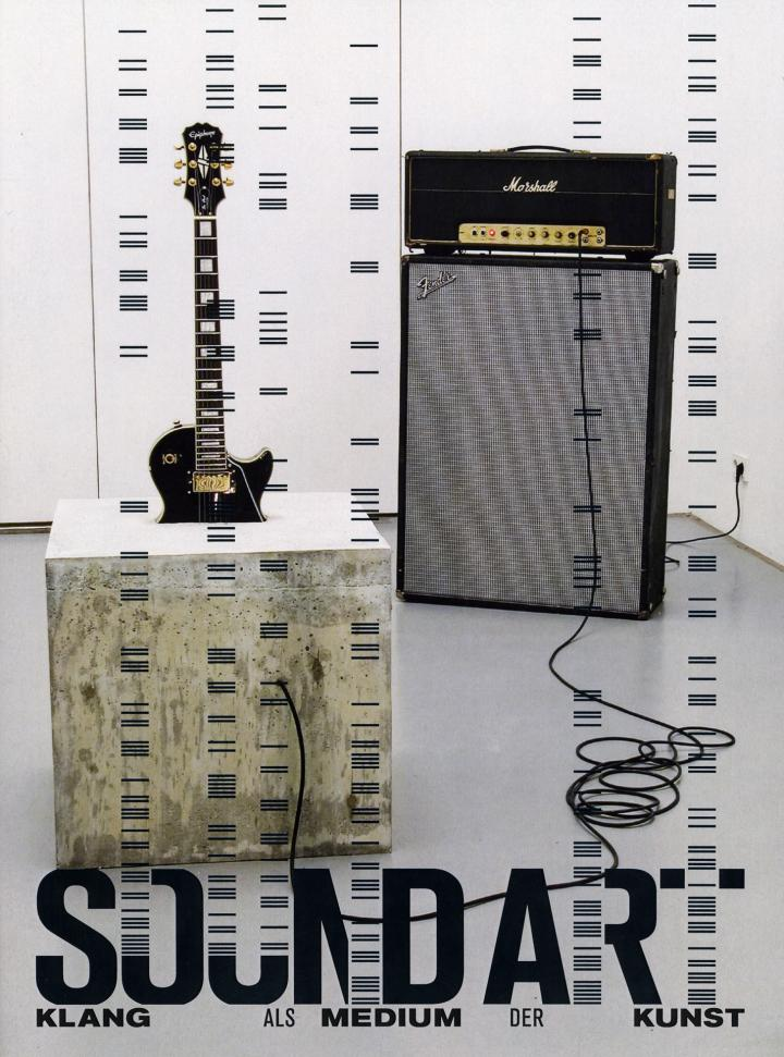 Cover of the publication »Sound Art (1. Auflage). Klang als Medium der Kunst«