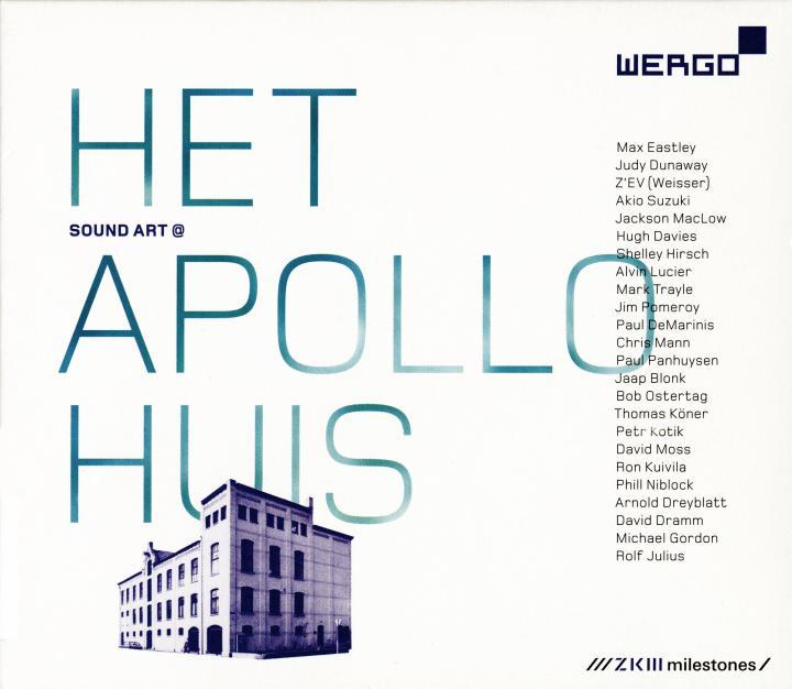 Cover of the publication »Sound Art @ Het Apollohuis«