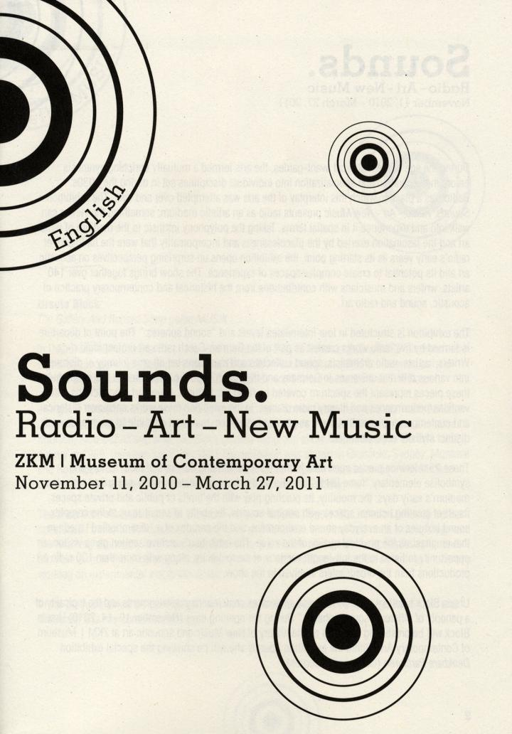 Cover of the publication »Sounds (English)«