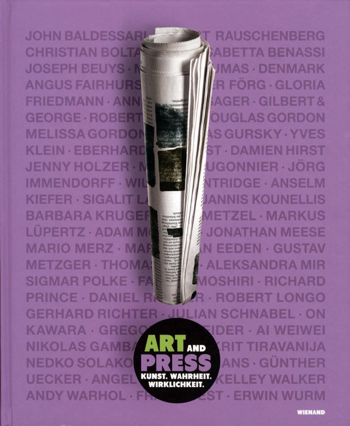 Cover der Publikation »Art and Press«