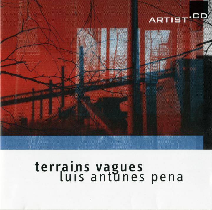 Cover of the publication »Terrains Vagues«