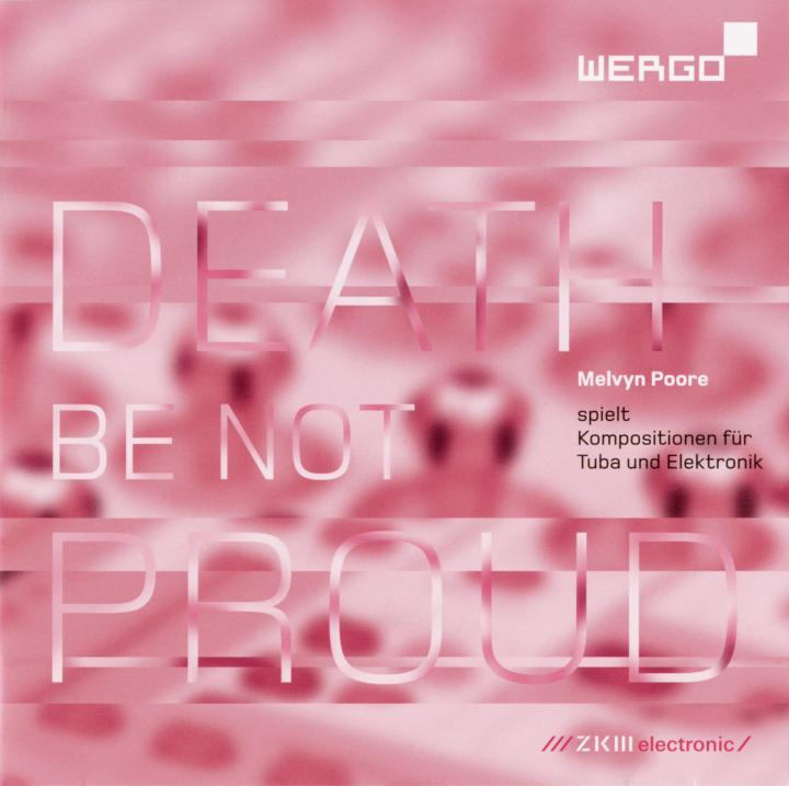 Cover der Publikation »Death be not Proud«