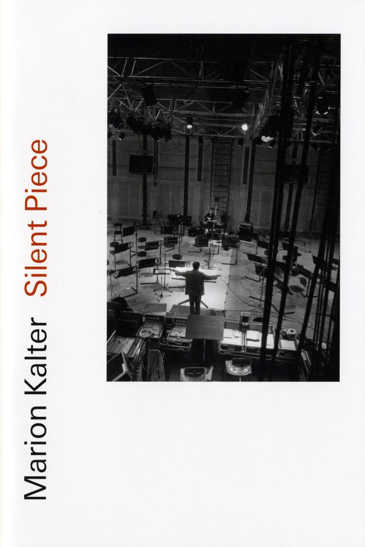 Cover of the publication »Marion Kalter: Silent Piece«