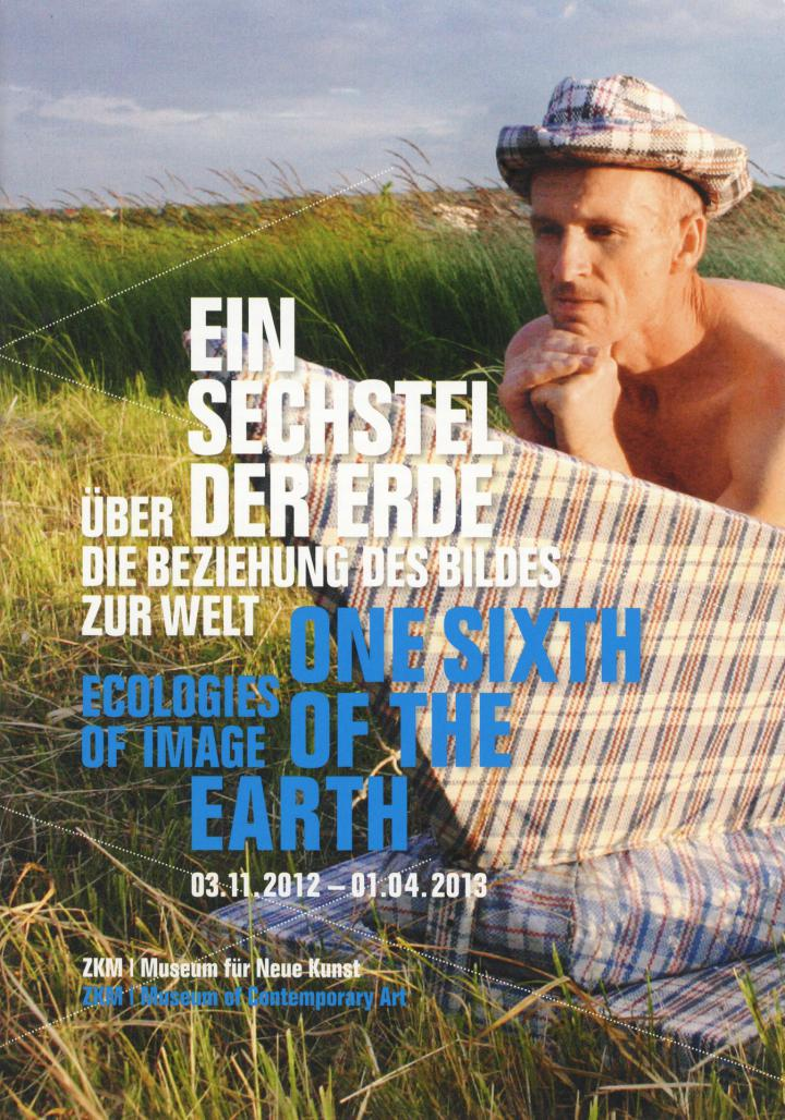 Cover of the publication »Ein Sechstel der Erde / One Sixth of the Earth«