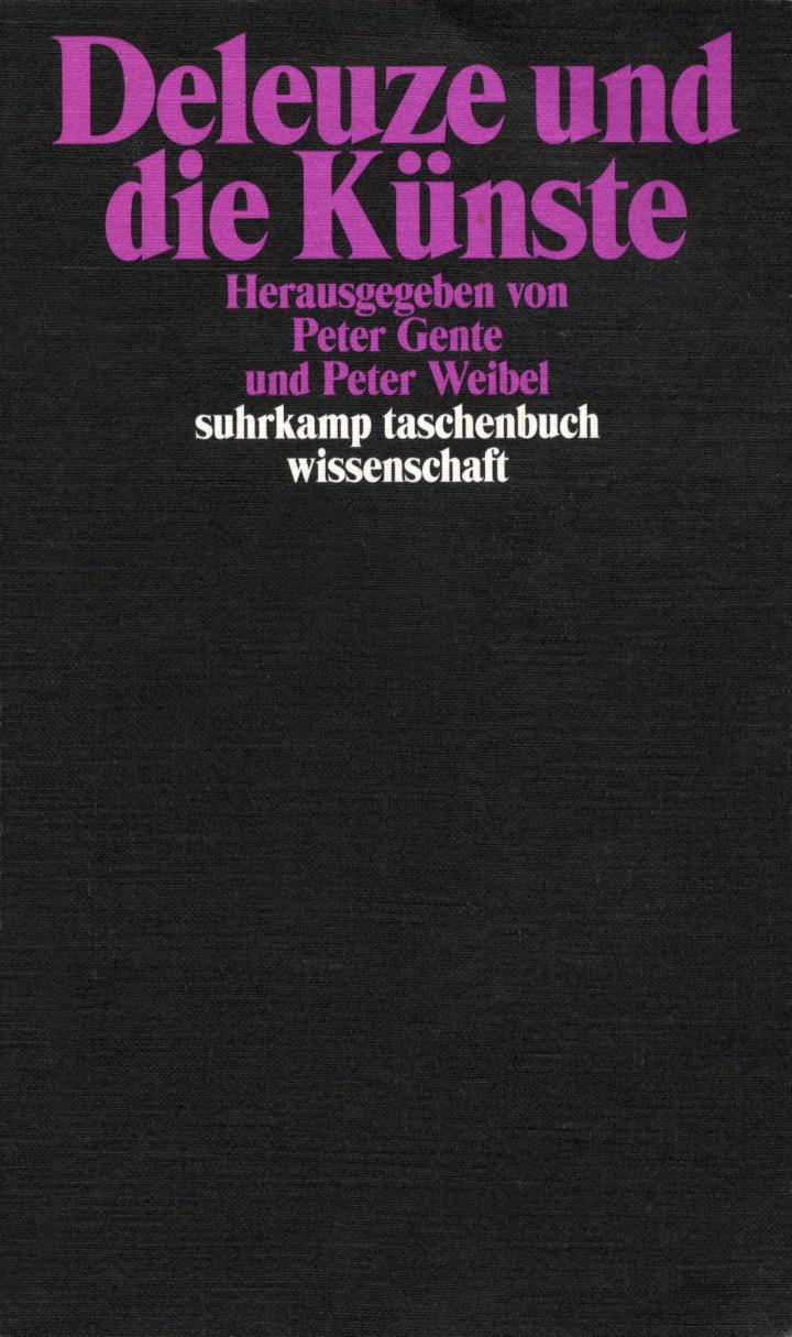 Cover of the publication »Deleuze und die Künste«