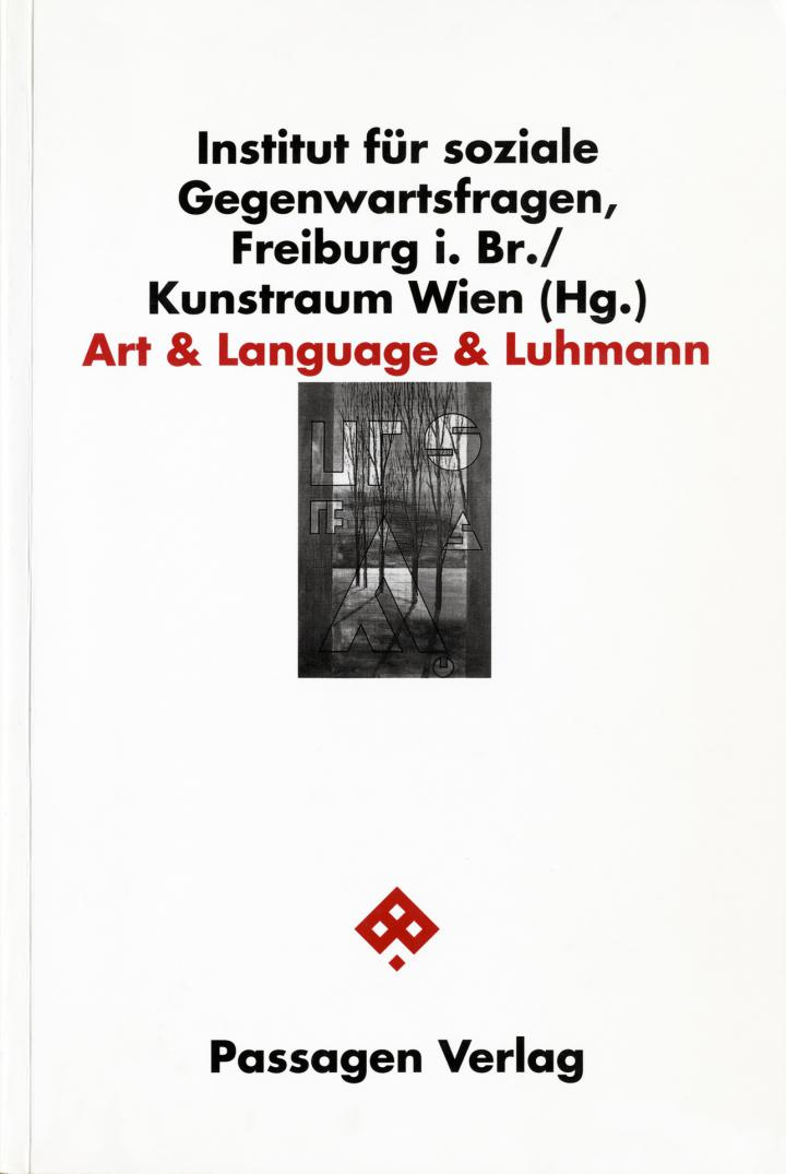 Cover of the publication »Art & Language & Luhmann III«