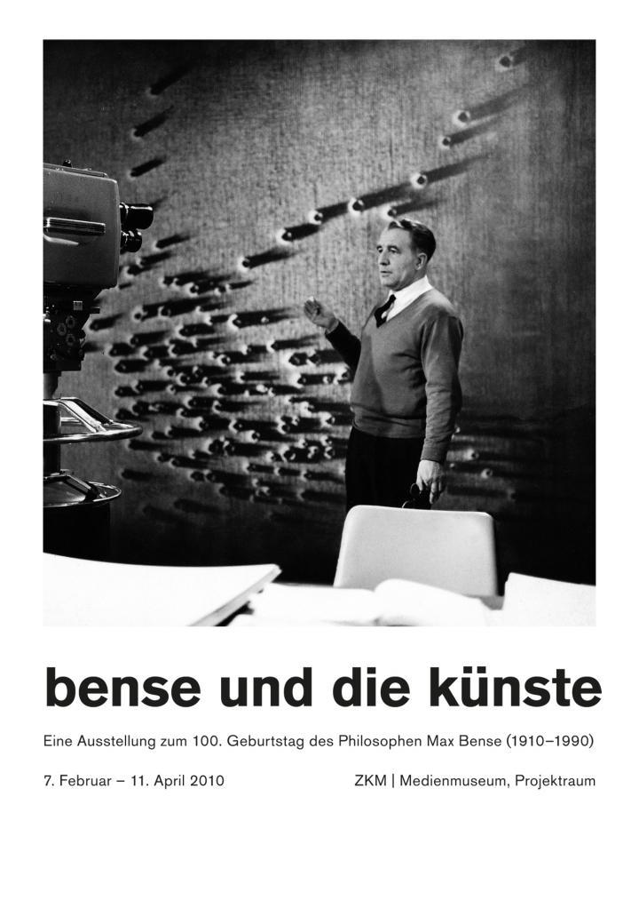Cover der Publikation »Bense und die Künste«