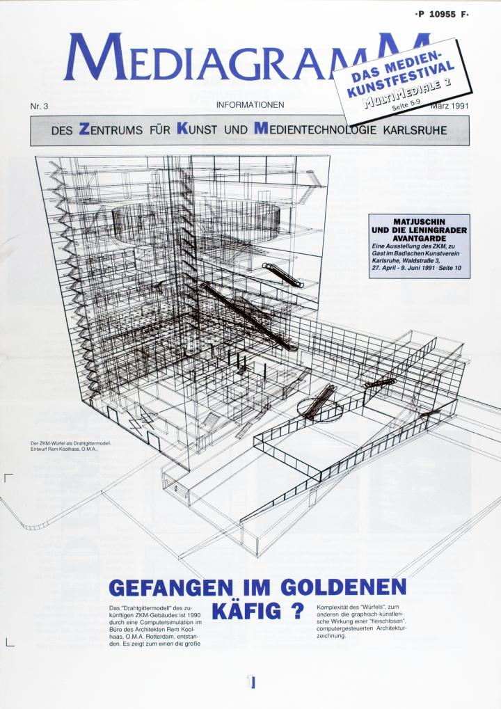 Cover of the publication »Mediagramm Nr. 3«