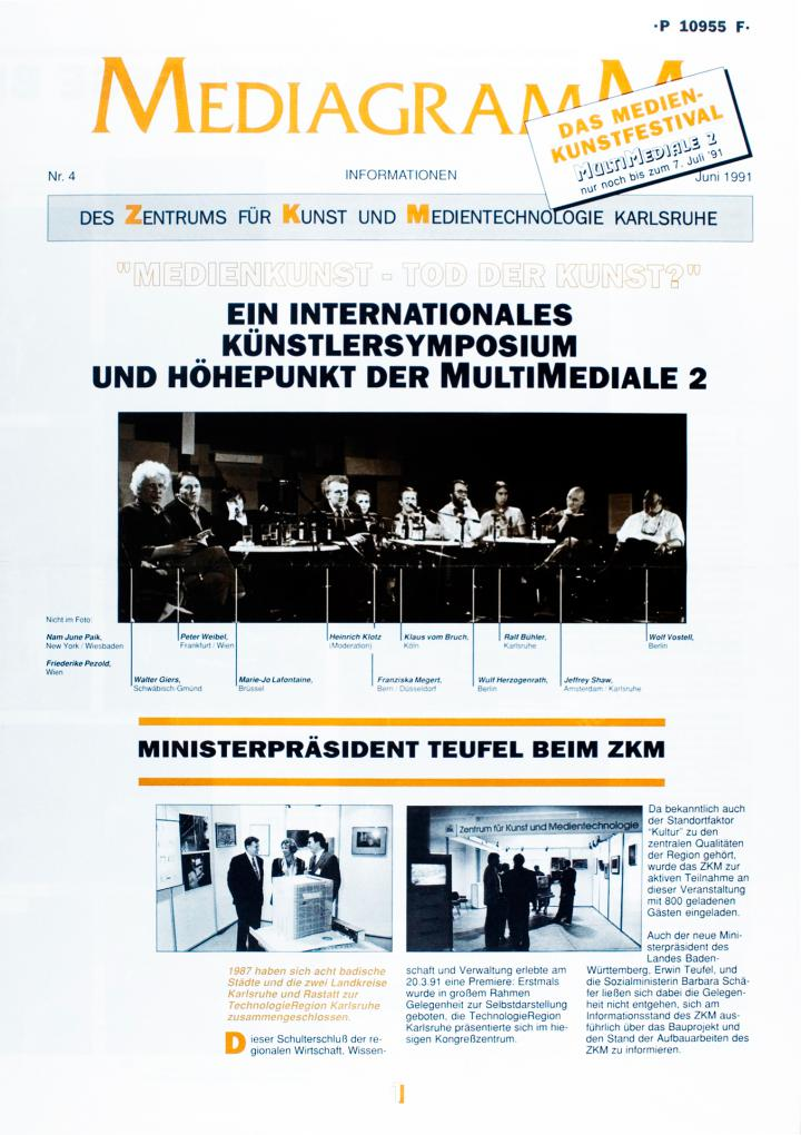 Cover of the publication »Mediagramm Nr. 4«