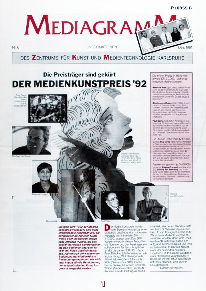 Cover of the publication »Mediagramm Nr. 6«