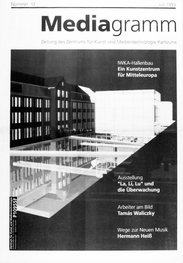 Cover of the publication »Mediagramm Nr. 12«