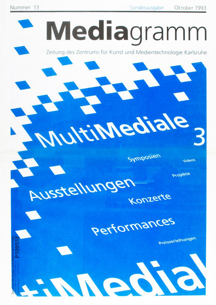 Cover of the publication »Mediagramm Nr. 13«