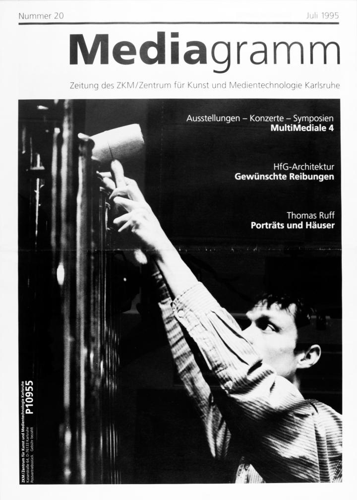 Cover of the publication »Mediagramm Nr. 20«