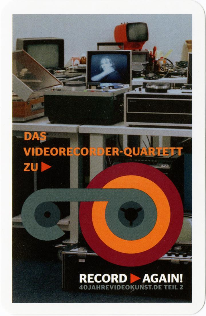 Cover der Publikation »Record Again! Videorecorder Quartett«